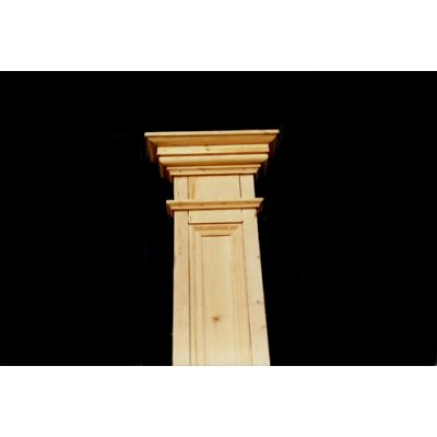 Oregan Pine Half Pillars