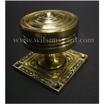 Solid Brass Chalice Door Handle / Door Knob