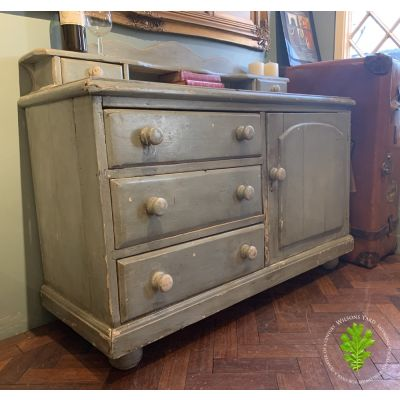Original painted sideboard / washstand