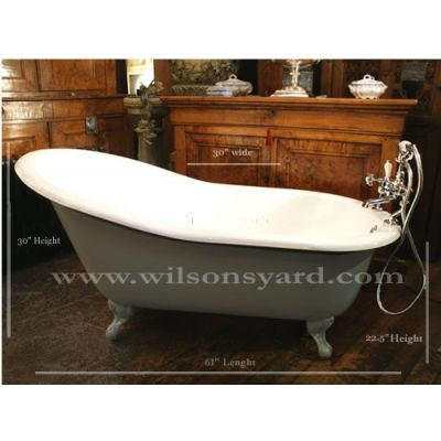 Single Ended Slipper Bath