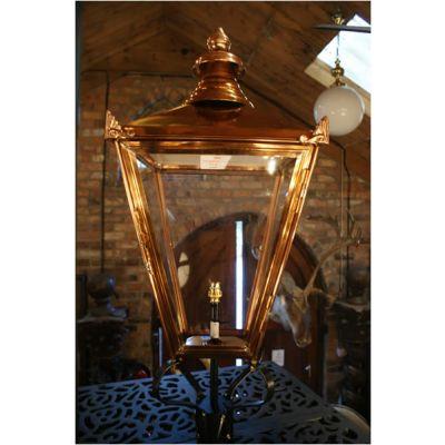Copper Lantern Head