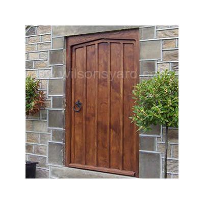 Bruce Waller Front Door & frame in solid oak