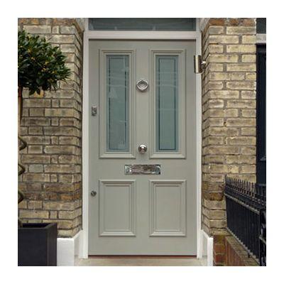 Exquiste Victorian door, frame & fanlight
