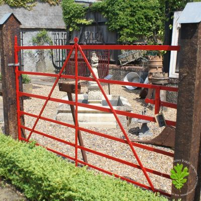 19th century blacksmith forged and riveted Irish Gate