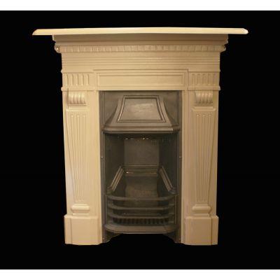 Petite Victorian parlour fireplace