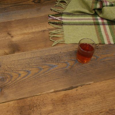 Stunning Reclaimed Contoured Pine Boarding