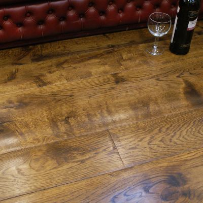Period Smoked Engineered Oak (sold as job lot)