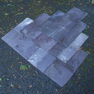 20 X 10 Reclaimed Bangor Blue Slates