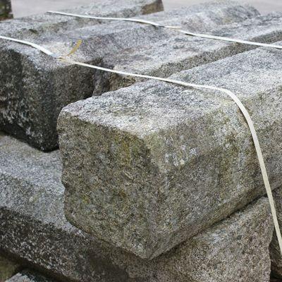 Reclaimed cut faced Granite pieces