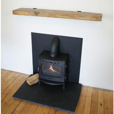 Reclaimed timber beam 1181 x 228 x 50