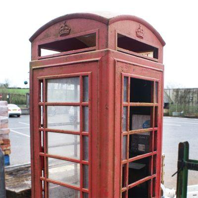 Original Red K6 Telephone Box now sold ref Ryan