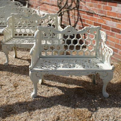 Cast Iron Regency Benches