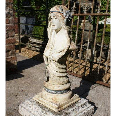 Guinevere Stone bust