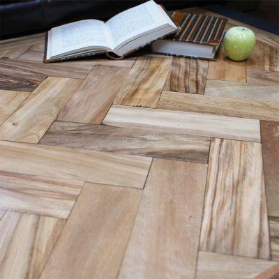 Reclaimed Afromosia Parquet Flooring