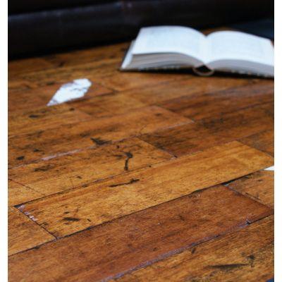 Reclaimed African Hardwood Parquet Flooring