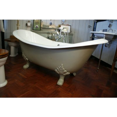 Double Ended French Style Slipper Bath