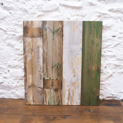 Reclaimed Tysley Mill Board cladding