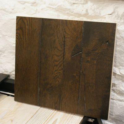 Rustic distressed engineered smoked oak - 7.5sq mtr job lot