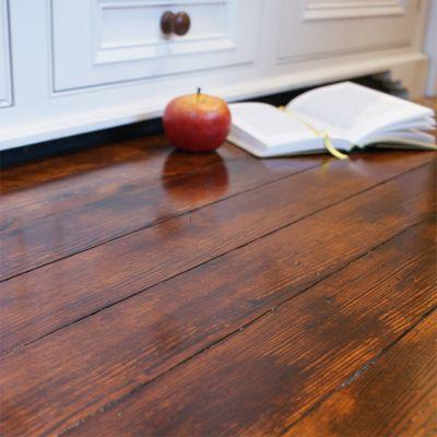 Reclaimed Bonnyrigg pitch pine strip flooring -(finish1)