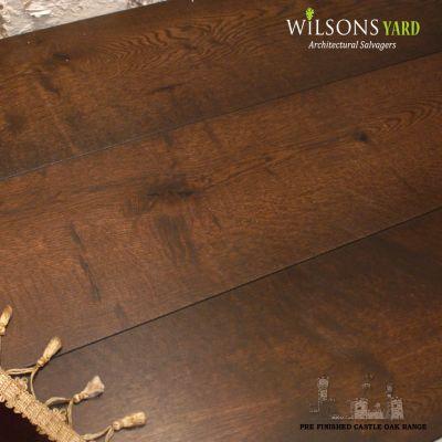 WILSON'S WATERFORD CASTLE RANGE  PRE-FINISHED ENGINEERED  OAK PLANK