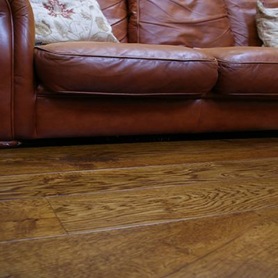 Flat Cider Mill Solid Oak Dark