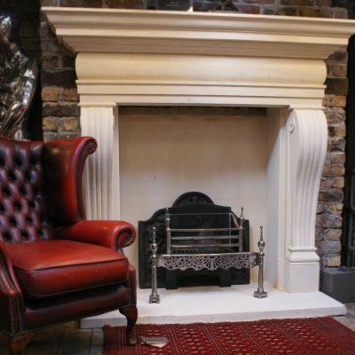 The Regency stone fireplace (Bespoke)