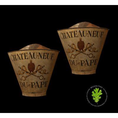 Pair of original 19th century Grape hods.
