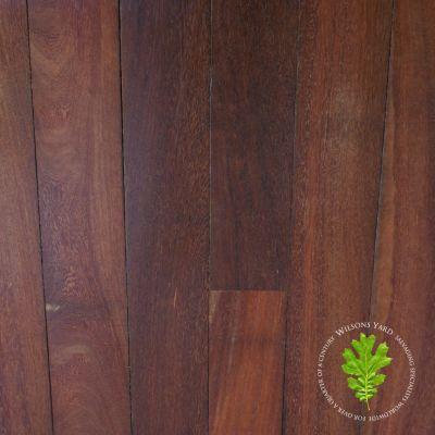 Reclaimed Ekki Tropical wood plank flooring