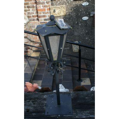 Locally Hand Made Exterior Light - Raised
