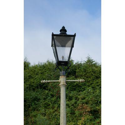 Pair of Street Posts including Lanterns