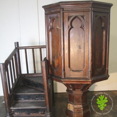 Victorian Hexagonal Pulpit