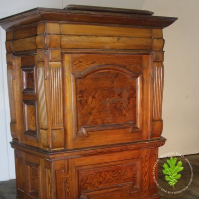 Beautiful Pitch Pine pulpit paneling