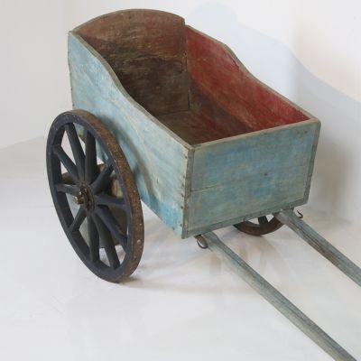 Pretty antique French farm cart
