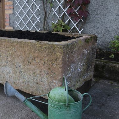 Nicely aged 19th century Lincoln stone trough