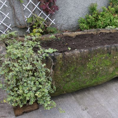 Large 19th century Lincoln stone trough