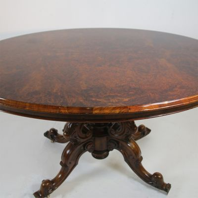 Victorian tilt top table