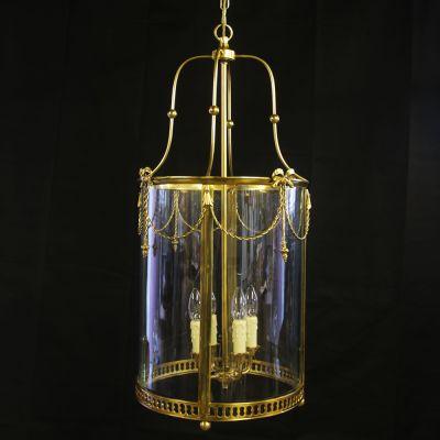 Large French style decorative lantern not old