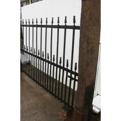 19th century Blacksmith estate gate
