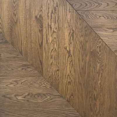 Pre Finished Oak Engineered Chevron Flooring