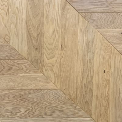 Pre Finished Oak Engineered Chevron Flooring