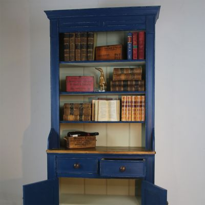 Beautiful blue painted small dresser