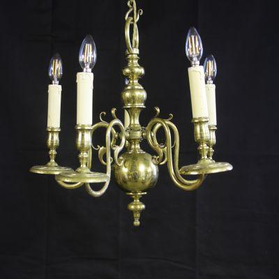 Vintage petite English chandelier