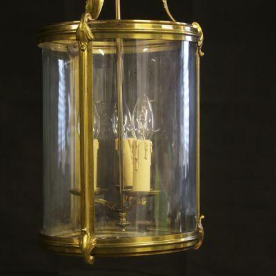 Vintage Brass French lantern
