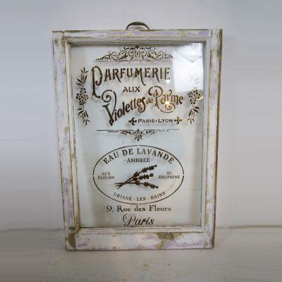 Vintage Parfumerie window