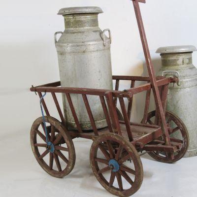 Original French Farm trolley cart
