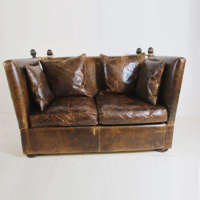 Vintage designer knoll sofa