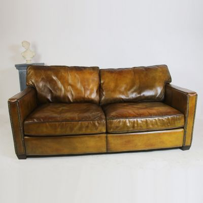 Superb restored vintage settee