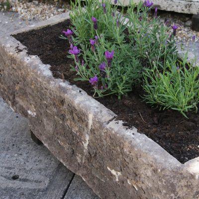 Original garden stone trough