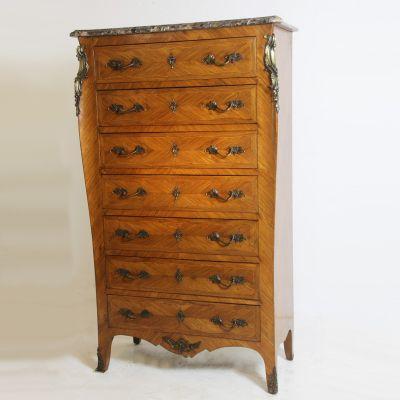 Antique Semainier Chest Of Drawers