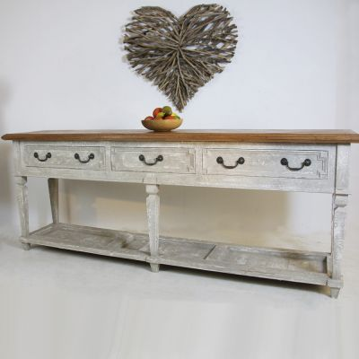 Bespoke Parquet topped Hungarian side server